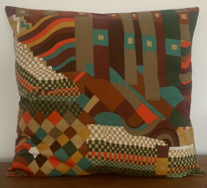 Vintage 70's Liberty Collier Campbell Bauhaus fabric cushion cover