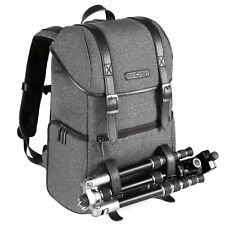 K&F Concept DSLR Camera Tripod Backpack Bag Case Dual-layer Waterproof Side Open