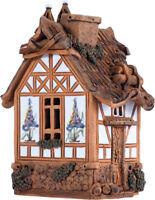 Ceramic Tealight Candle Holder Fantasy House Collection 16 cm © Midene