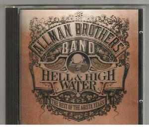 CD ALLMAN BROTHERS BAND HELL & HIGH WATER BEST OF Printed In Germany