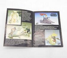 Kenner STAR WARS RotJ Katalog Prospekt Booklet Flyer PROTOTYPE SAIL SKIFF #P28