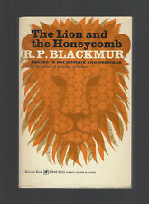 THE LION AND THE HONEYCOMB Essays Solicitude & Critique by R. P. Blackmur NFTPB