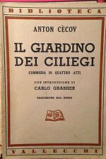 CECOV, IL GIARDINO DEI CILIEGI, VALLECCHI 1941