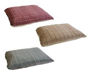 Medium & Large Soft Dog Bed Puppy Pet Washable Zipped Mattress Cushion Premium