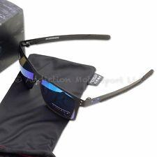 Oakley Holbrook Metall Sonnenbrille MotoGP mattschwarz Prizm Saphir OO4123-1055