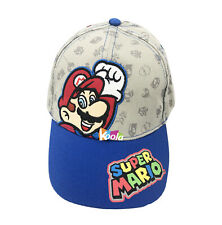 0446864d5a2a5 Best Gift Boy Girls Children Super Mario Cap Baseball Cap Adjustable Hat  age 2-4