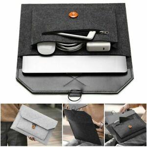 Laptop Sleeve Bag Case For MacBook Mac Air/ Pro Retina 11.6'' 12'' 13.3'' 15.4''