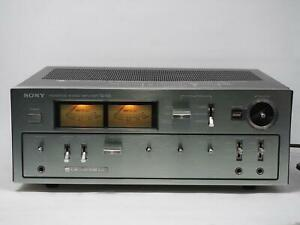 Vintage SONY TA-F6B Integrated Amplifier Amp Tested! Free Shipping!