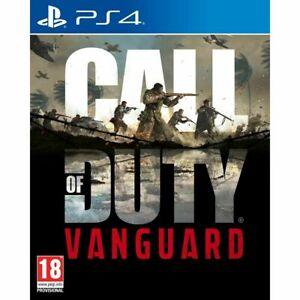 Call Of Duty Vanguard PS4 **Pre Order** 2021 5th November