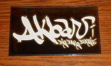 Akbar Big Bang Boogie Sticker Rectangle 2001 Promo Hip Hop 5x3