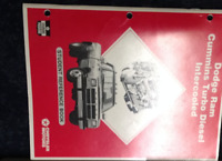 Dodge Ram Truck Cummins Turbo Diesel Intercooled Student Reference Manual Book