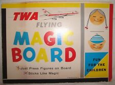 Vintage TWA Airline Flying Magic Board Toy for Children (USED)