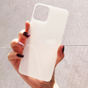 2Pack Tempered Glass Back Rear Screen Protector for iPhone 11 12 Pro Max XS XR X