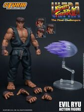 Storm Collectibles Ultra Street Fighter 2 Evil Ryu 1/12 Action Figure New