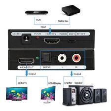 Convertitore da Hdmi a Hdmi + audio, HDMI audio e video splitter, diviso