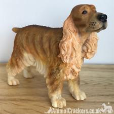 More details for red cocker spaniel ornament sculpture figurine leonardo, dog lover gift, boxed