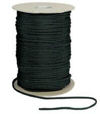 BLACK 550LB 7 Strand 100% Nylon Made USA Parachute Paracord 1000 FT Spool  304