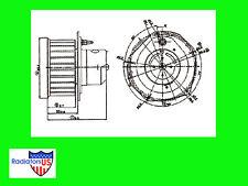 GMC SAFARI VAN NEW HEATER/AC BLOWER FAN/MOTOR 1999 2000