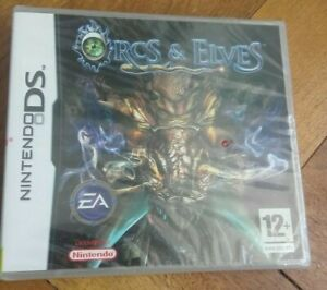 Sealed - Orcs And Elves ( Nintendo DS, 2007 ) **New & Sealed**