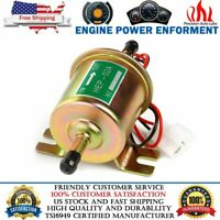 Universal Electric Inline Fuel Pump 12V For Lawn Mowers Small Engine Gas Diesel
