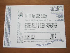 George Melly & Digby Fairweather - The Stabels Wavendon 11.3.2005 Concert Ticket