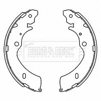 Brake Shoes fits ISUZU RODEO Mk1 2.5D Rear 02 to 12 Set B&B 8973026351 Quality