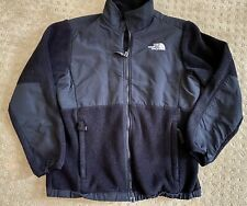 The North Face Black Fleece Denali Jacket Girls Youth Large