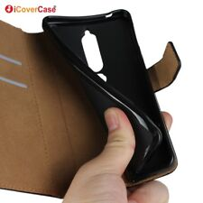 Genuine Leather Wallet Flip Case Cover For Nokia 6.1