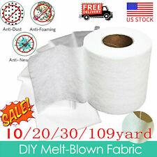 Melt-blown Nonwoven DIY Fabric Face Craft Filter Cloth 10M 20M 30M 100M US Stock