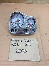 Piaggio Vespa 50 Sport Lx 2009 Strumentazione Contachilometri