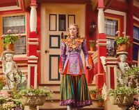 """MIA WASIKOWSKA Authentic Hand-Signed """"Alice thru The Looking Glass"""" 8x10 Photo"""