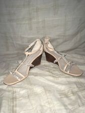 Marc Jacobs Nude Sandal Wedge, Women's Shoes, Size 8.5M