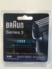NEW & SEALED Braun Series 3 Replacement Foil & Cutter 30B  7000/4000 Series