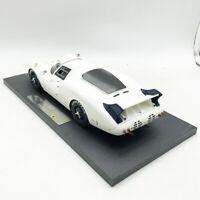 1/18 Ferrari 365 Elefante White Resin Sport Car Model Gift New Collection