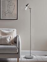 Cox & Cox LivingRoom Glass & Concrete Floor Lamp - RRP £175
