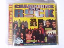2 CD Champions of Rock Deep purple Saxon Heart UFO ELO Gillan XYZ....