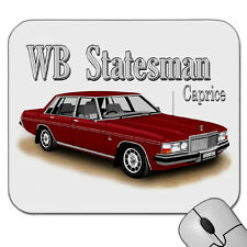 HOLDEN  WB  STATESMAN  CAPRICE        MOUSE PAD   ( 8 CAR COLOURS )