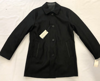 COLE HAAN Reversible Wool Jacket Mens Black Size UK M *REF99