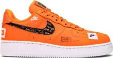 Nike Air Force 1 Low PRM Total Orange AR7719-800 Men Just Do it JDI
