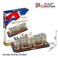 Buckingham Palace 72pc 3D Architecture Model DIY Puzzle Hobby Building Kit Toy