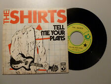 THE SHIRTS ' tell me your plans ' 7' france Harvest