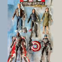 Marvel Legends Captain America MCU Winter Soldier Falcon Peggy Carter 2 pk UPICK