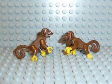 LEGO® Piraten Zubehör 2x Affe Figur monkey braun 6285 6278 6270 6289 6286 F823