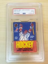 1986 O-Pee-Chee Wax Pack PSA Mint 9 Possible Patrick Roy RC NHL HOF