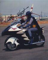 ADAM WEST SIGNED AUTOGRAPHED BATMAN COLOR PHOTO BAM ZOOM!!