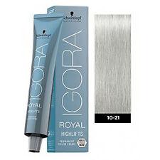 Schwarzkopf Igora Royal Highlifts 10-21 Ultra Blonde Cendre Beige 60g
