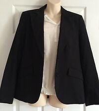 LADIES BLACK  Zara BASIC TROUSER Suit Size EUR 42