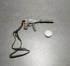 "1:6 Ultimate Soldier Skorpion Submachine Pistol w/ Silencer 12"" GI Joe Dragon"