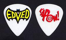 Pearl Jam Eddie Vedder EdVed Batman Kapow Guitar Pick - 2013 Lightning Bolt Tour