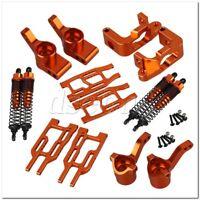 12pcs Golden Aluminum Alloy Upgrade Parts Set for RC1:10 HPI BULLET3.0 ST/MT